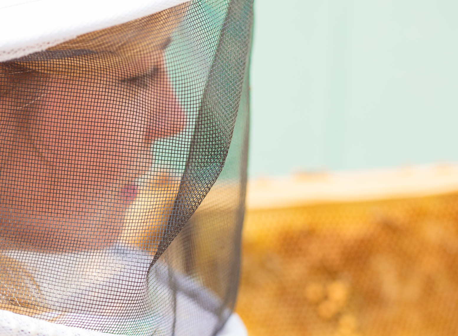 Female beekeeper beauty | Austin Lifestyle Photographer