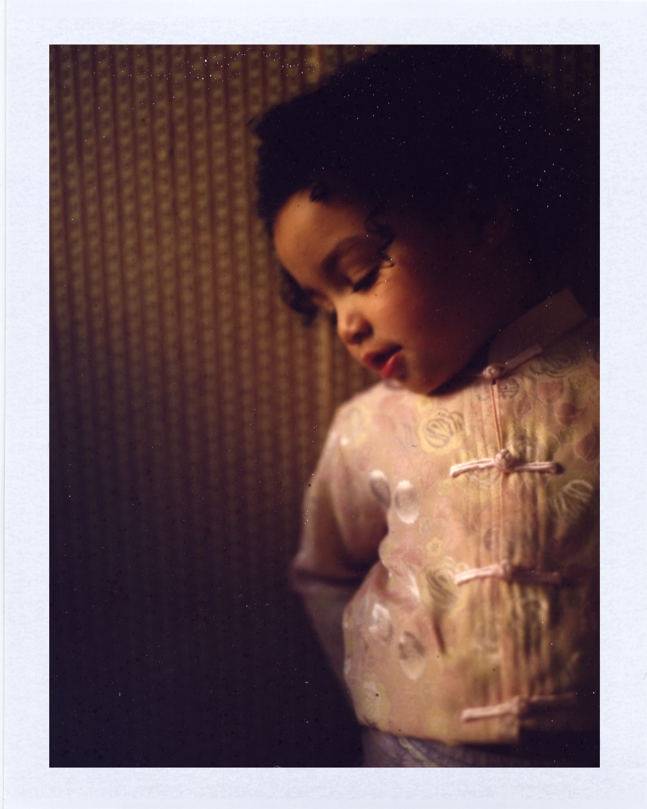 Warm tones young child | Polaroid Photographers