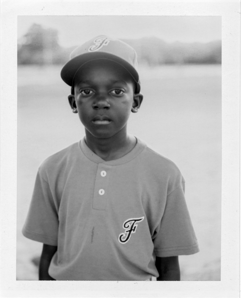 Young ball player | Photographers who shoot film