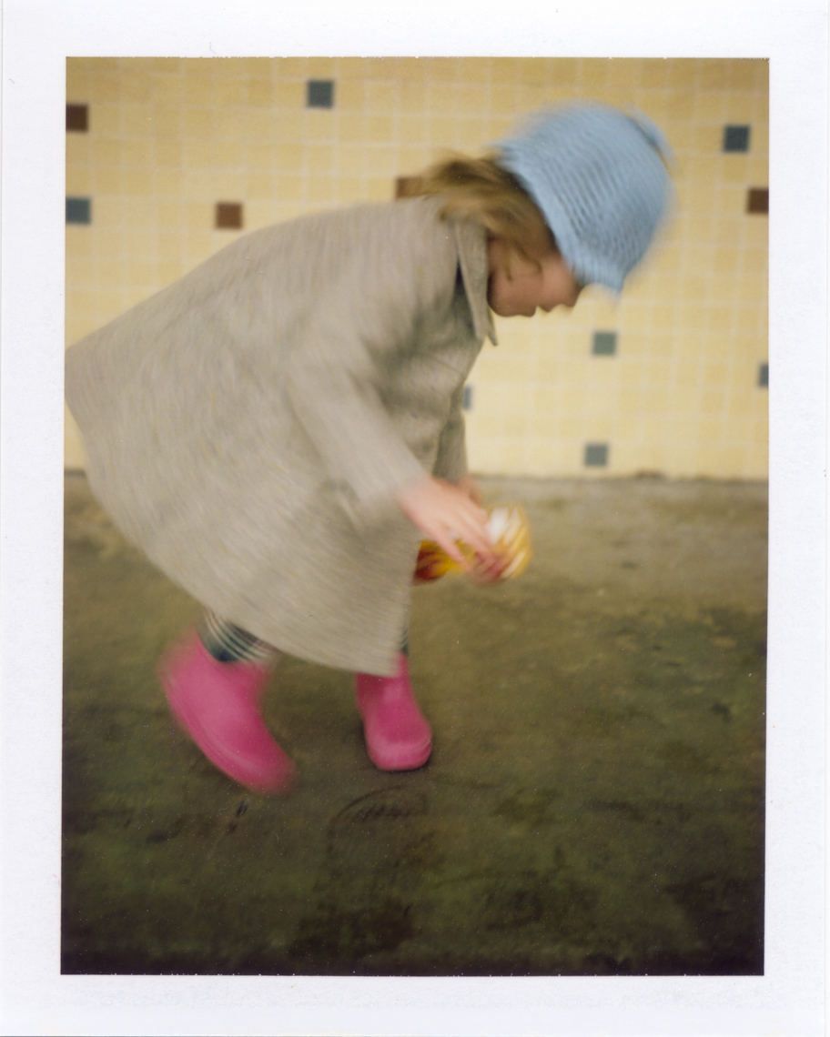 Soft pastel colors shot on Polaroid | Photographers who shoot film
