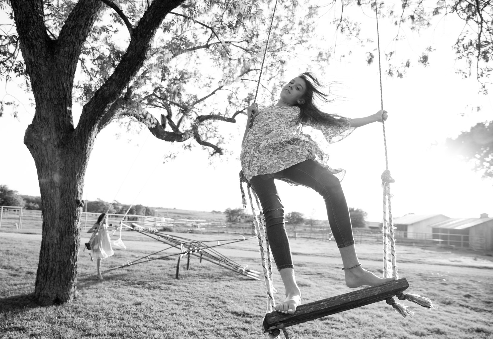 Ranch swing | Visual Storytelling Photographer