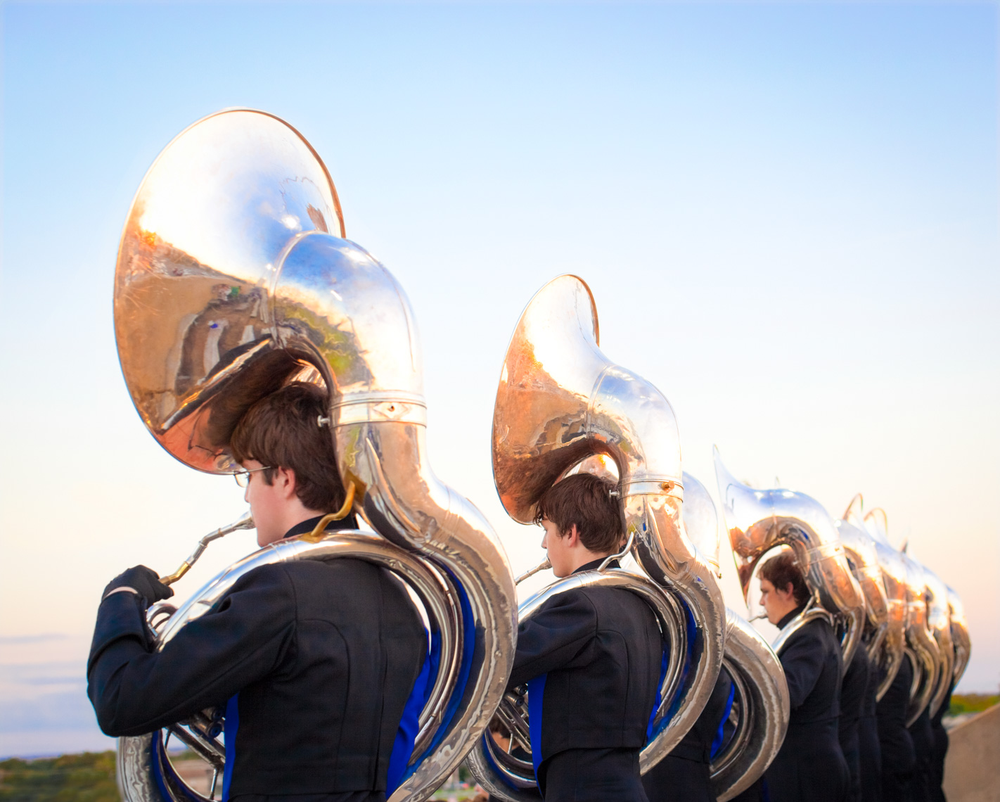 Engaging high school band | Commercial Lifestyle Photographer