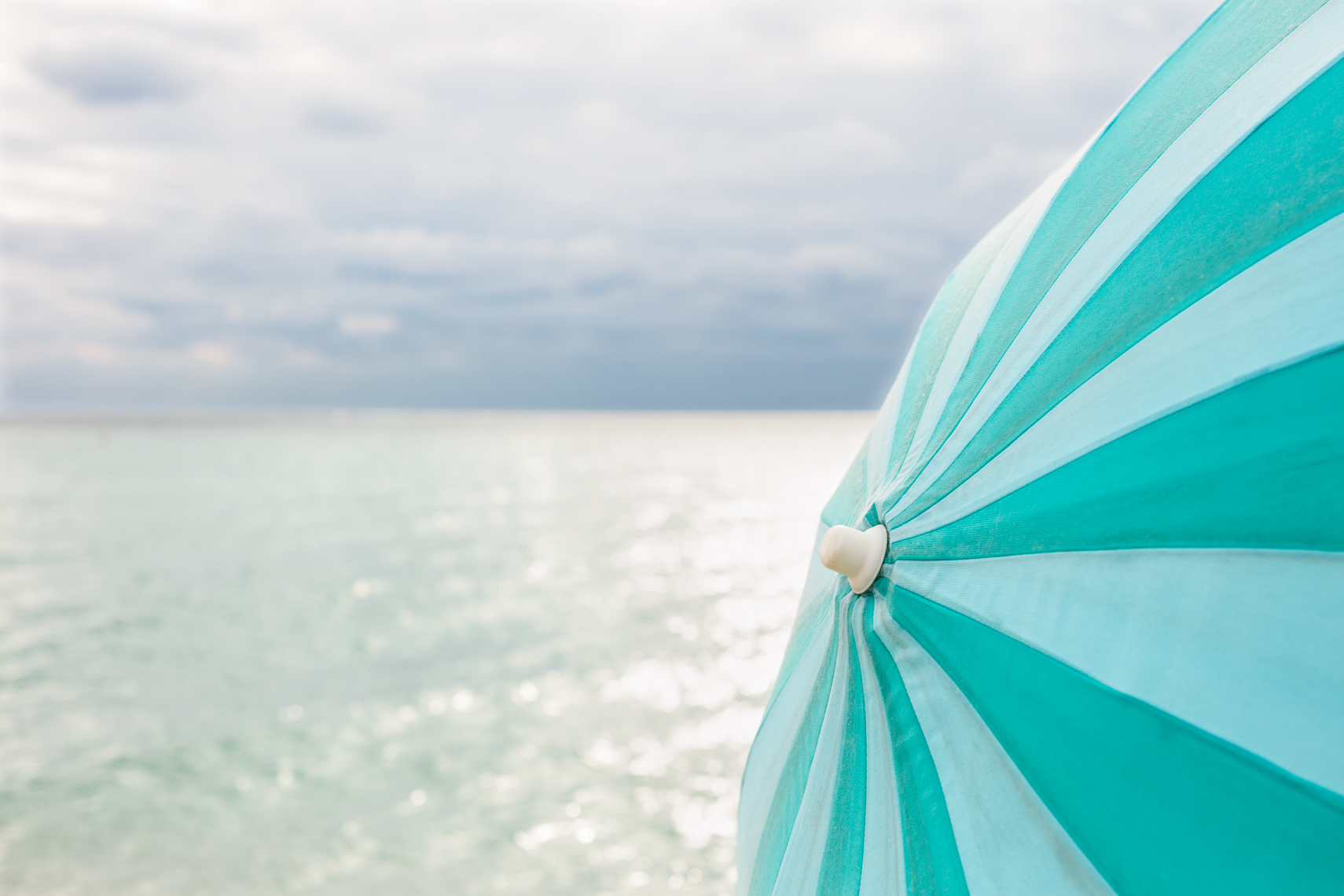 Large beach umbrella |  Editorial Travel Photographer