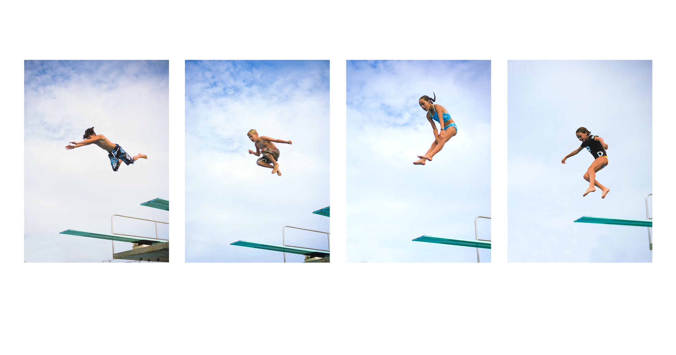Animated diving kids | Kids Lifestyle Photographer