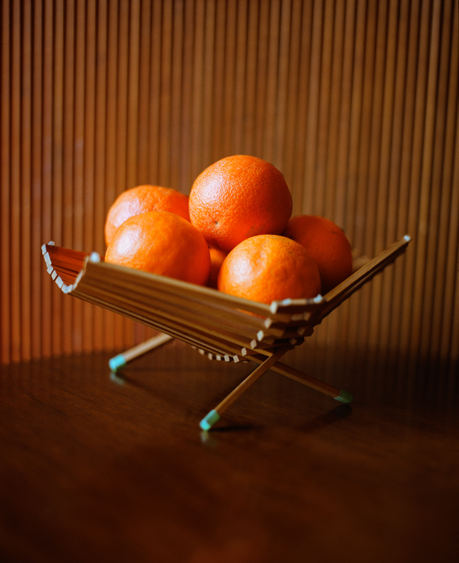Stunning oranges with wood wall | Fine Art Still Life