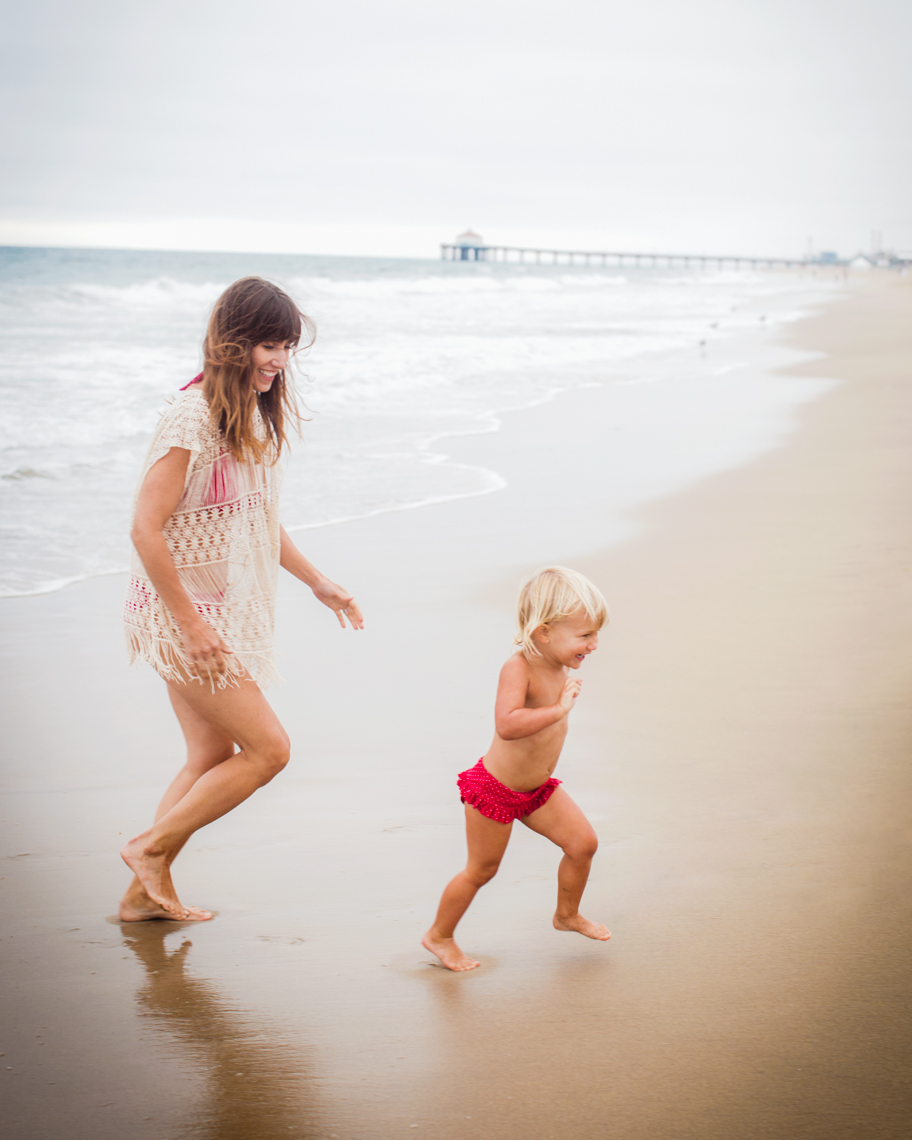 Mom toddler running together  | Commercial Lifestyle Photographer