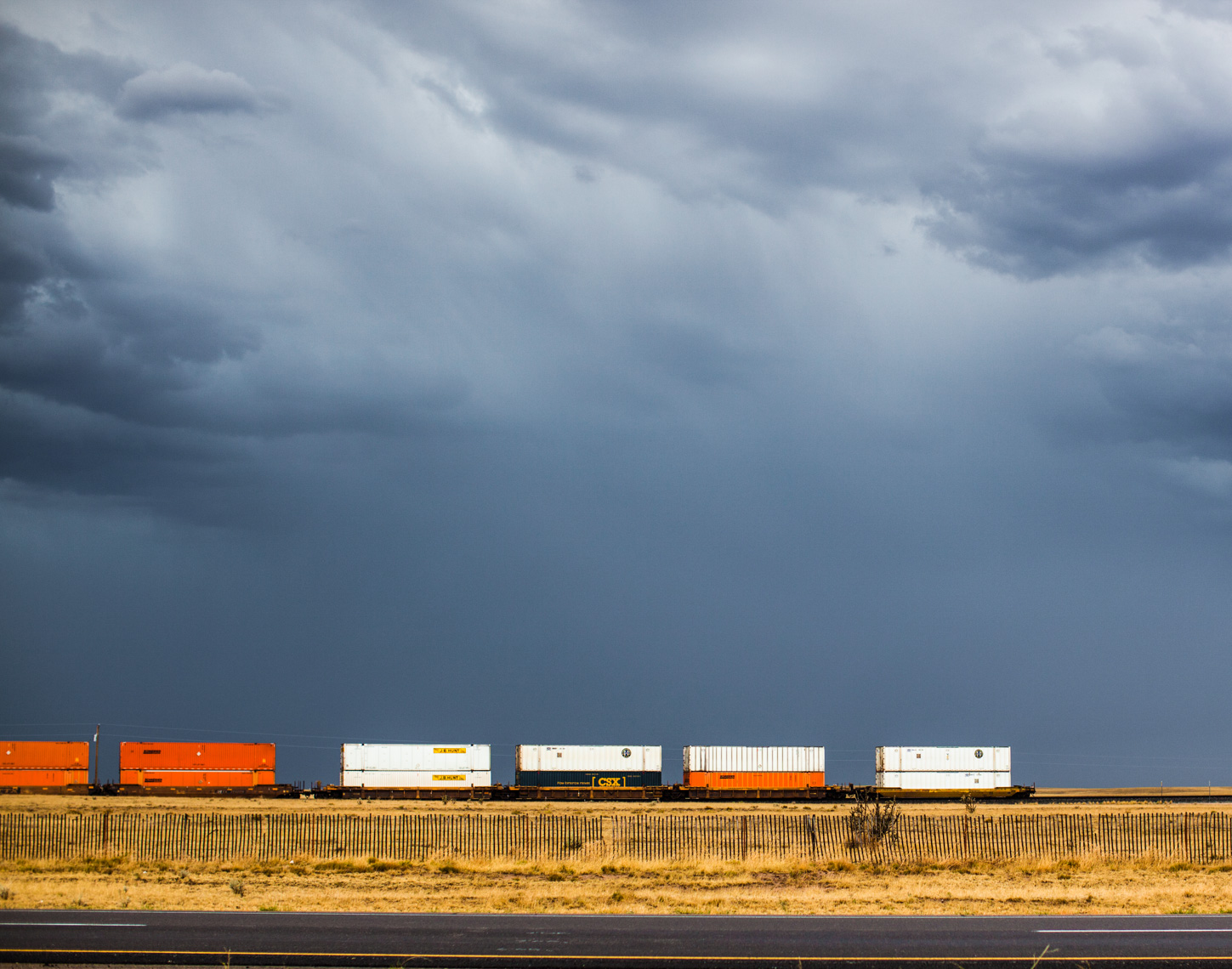 New Mexico train landscape | Editorial Travel Photographer