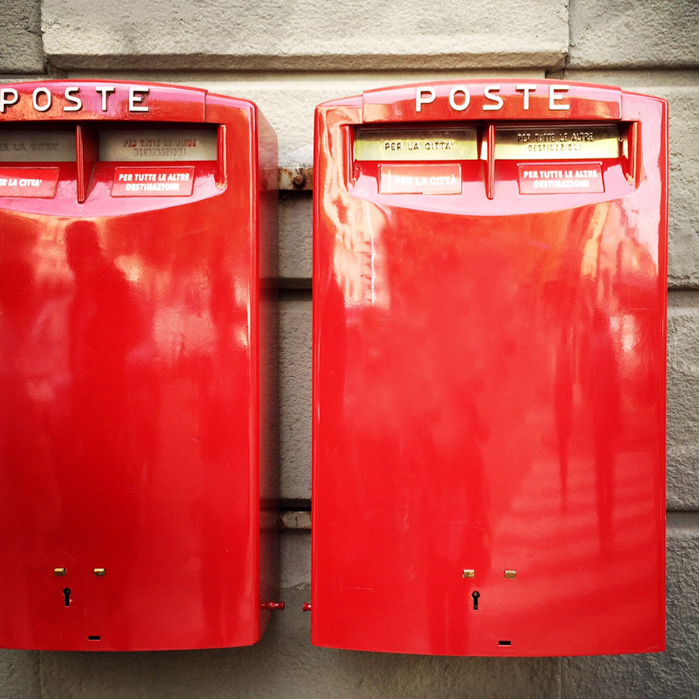 Textural Italian post boxes | Visual Storytelling Photographer