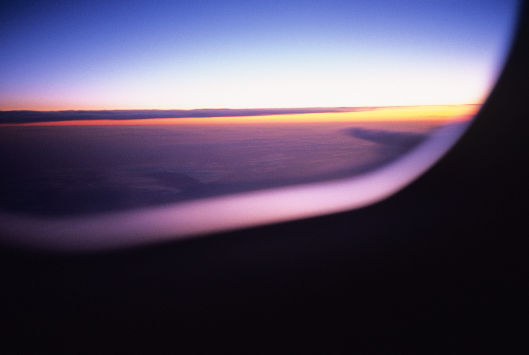 North Atlantic window seat sunrise |  Editorial Travel Photographer