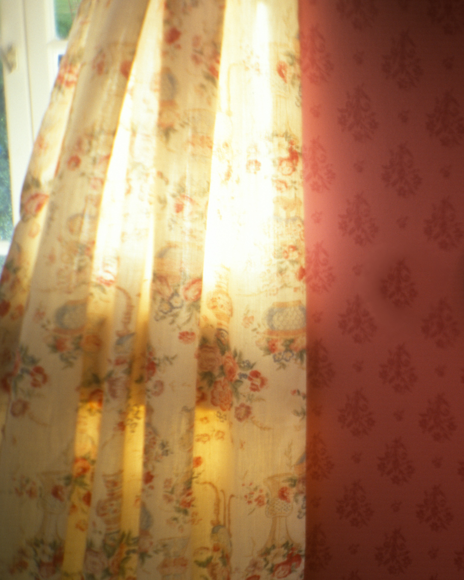 Interior detail photo of curtain | Tosca Radigonda Photography
