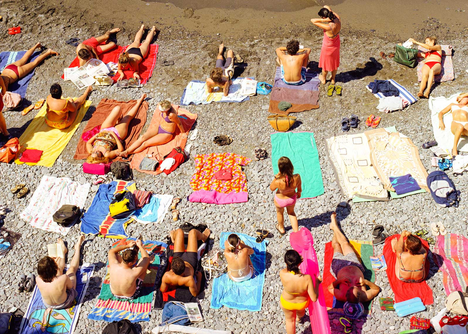 Image Of Italian Beach Lifestyle | Tosca Radigonda Photography