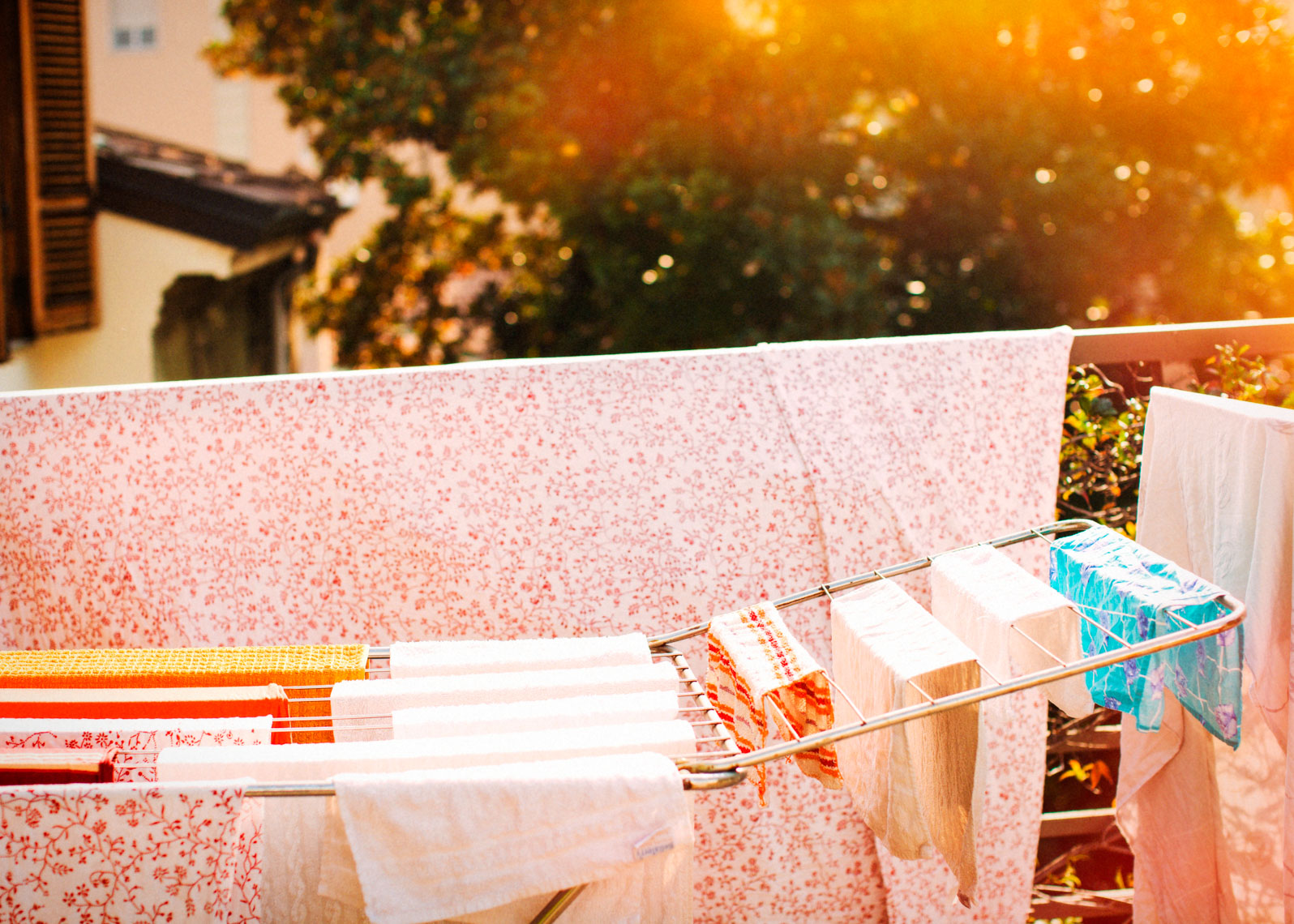 Travel Image Of Laundry in Italy | Tosca Radigonda Photography