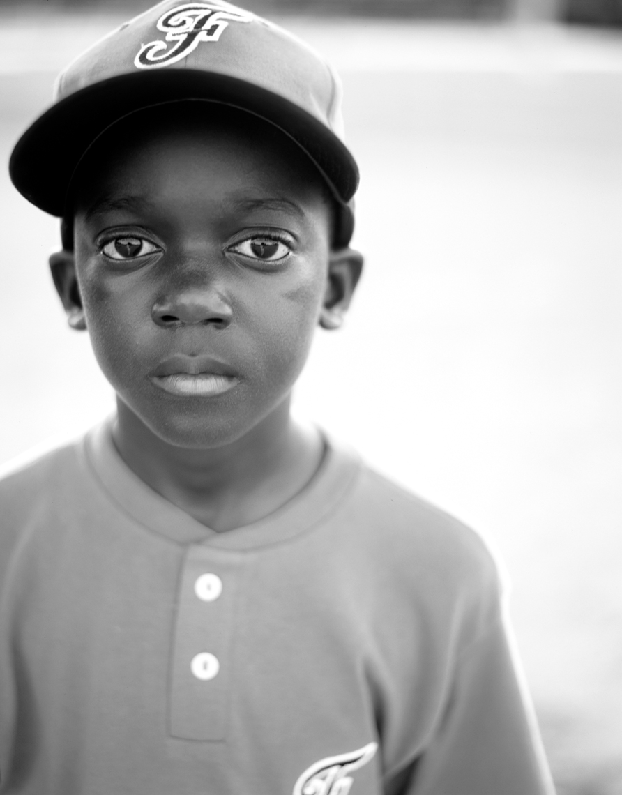 Portrait Of African American Child | Tosca Radigonda Photography