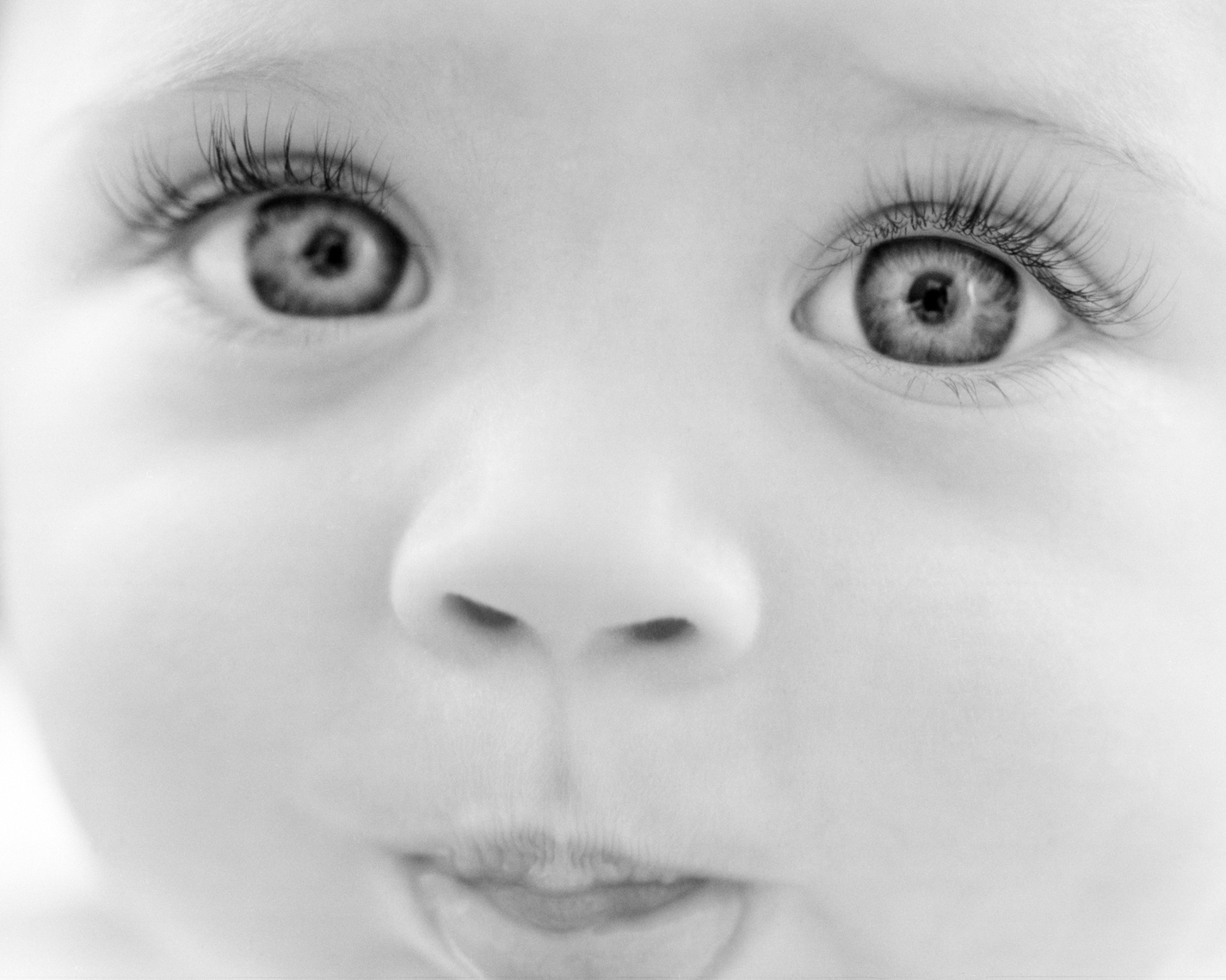 Black And White Baby Portrait | Tosca Radigonda Photography