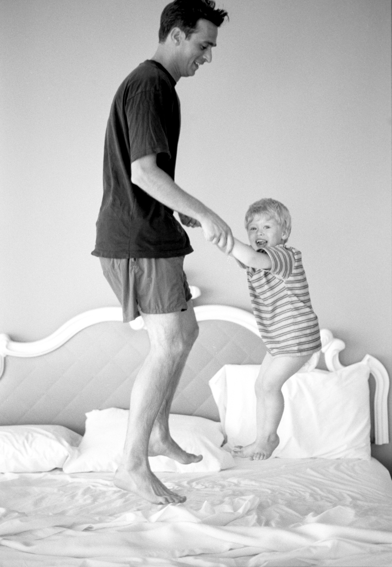 Lifestyle Image of Dad And Son | Tosca Radigonda Photography