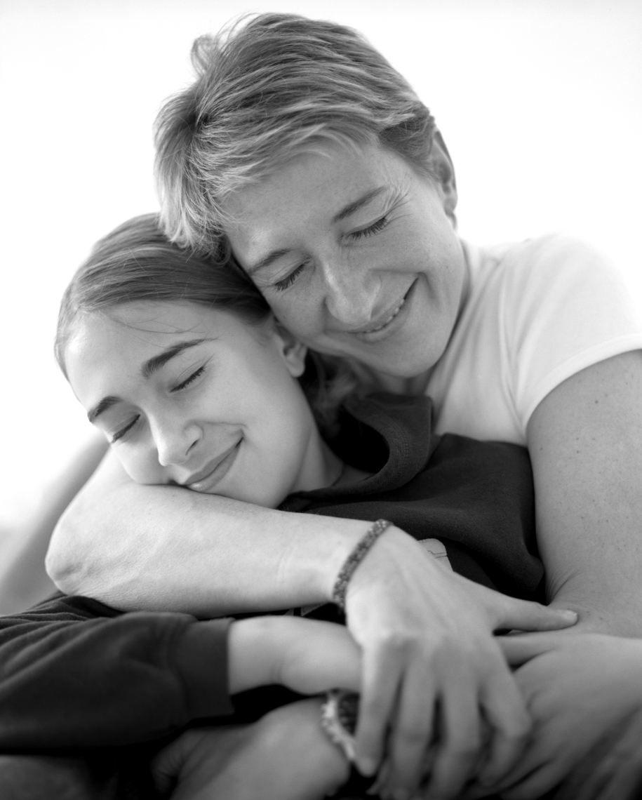 Portrait Of Mom And Daughter | Tosca Radigonda Photography