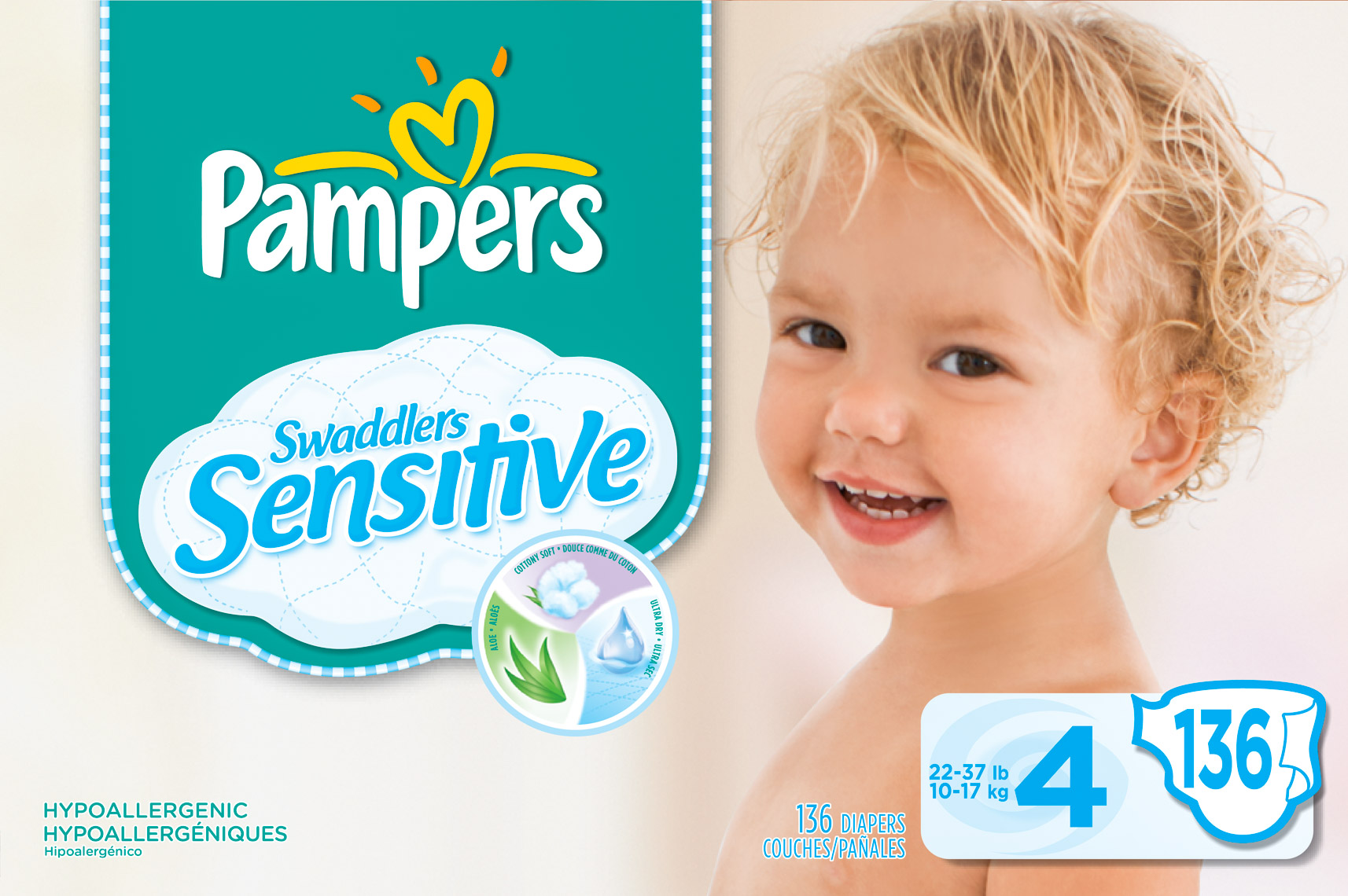 Pampers pack toddler