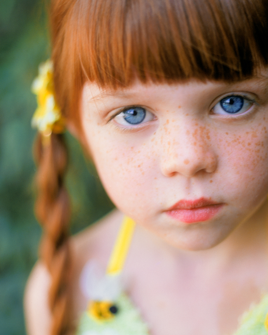 Portrait of red head child  | Tosca Radigonda Photography